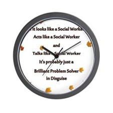 brilliant problem solver 2 Wall Clock