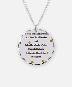 brilliant problem solver 2 Necklace