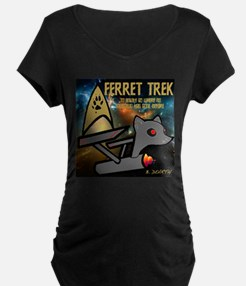 to boldly go Maternity T-Shirt