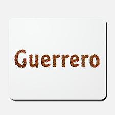 Guerrero Fall Leaves Mousepad