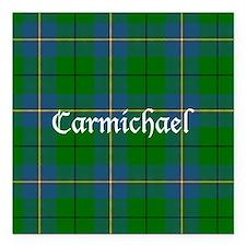 "Tartan - Carmichael Square Car Magnet 3"" x 3"""