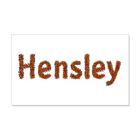 Hensley Fall Leaves 20x12 Wall Peel