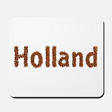 Holland Fall Leaves Mousepad