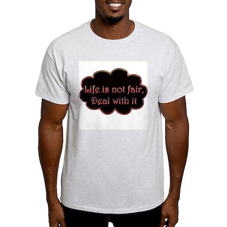 Not Fair Ash Grey T-Shirt