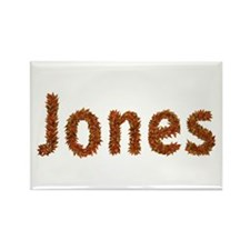 Jones Fall Leaves Rectangle Magnet