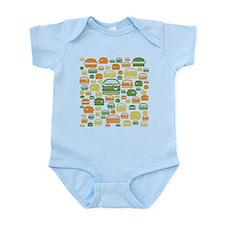 Burgers Infant Bodysuit