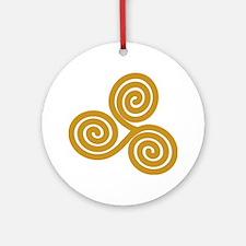 Celtic Triskele Ornament (Round)