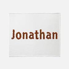Jonathan Fall Leaves Throw Blanket