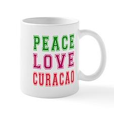 Peace Love Curacao Mug