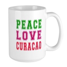 Peace Love Curacao Mug