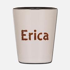 Erica Fall Leaves Shot Glass