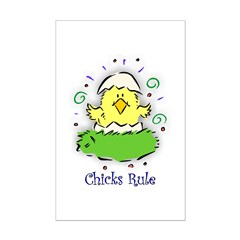 Chicks Rule Posters