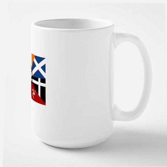 Celtic Nations Collage Large Mug