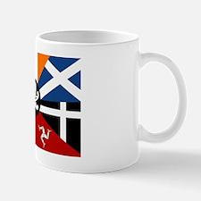 Celtic Nations Collage Mug
