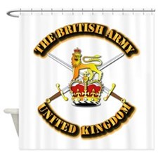 The British Army - UK Shower Curtain