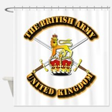 The British Army - UK Shower Curtain