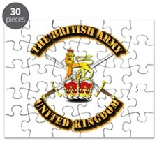 The British Army - UK Puzzle