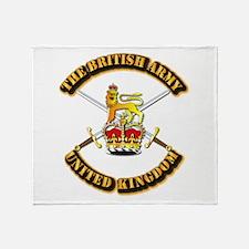 The British Army - UK Throw Blanket