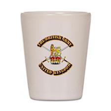 The British Army - UK Shot Glass
