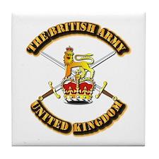 The British Army - UK Tile Coaster