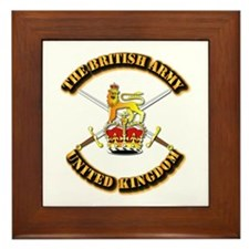 The British Army - UK Framed Tile