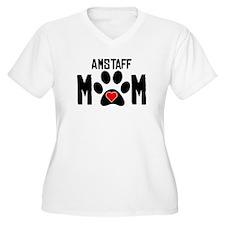 AmStaff Mom Plus Size T-Shirt