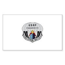Pararescue Badge Rectangle Decal