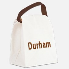 Durham Fall Leaves Canvas Lunch Bag