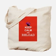 Keep Calm and Reload Zombies Tote Bag