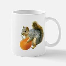 Squirrel with Pumpkin Mug
