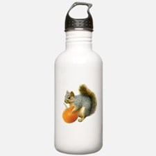 Squirrel with Pumpkin Water Bottle