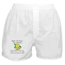 Funny Lemons Boxer Shorts