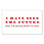 Future Sticker (Rectangle 50 pk)