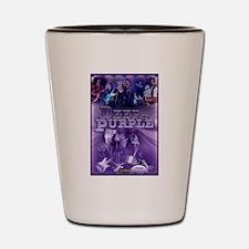 Unique Deep purple Shot Glass