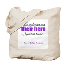 Hero Epilepsy Tote Bag