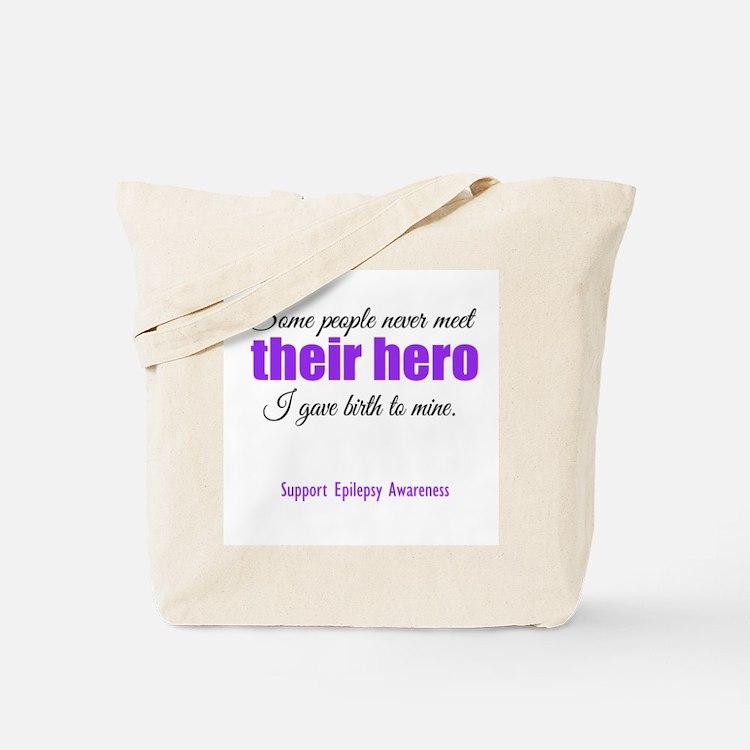 Hero Epilepsy Tote Bag