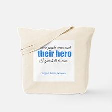 Hero Autism Tote Bag