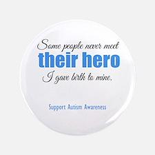 """Hero Autism 3.5"""" Button"""