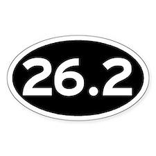 26.2 Black Decal