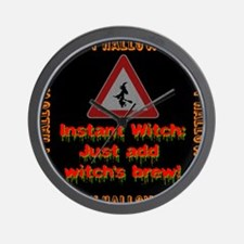 Instant Witch Wall Clock