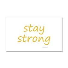 stay strong Car Magnet 20 x 12