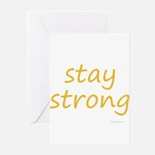 stay strong Greeting Cards (Pk of 10)