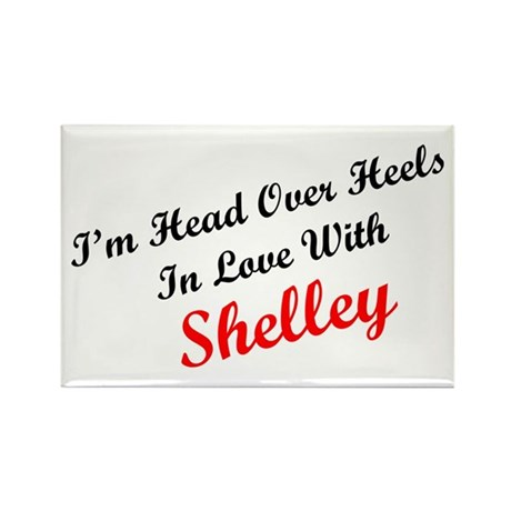 In Love with Shelley Rectangle Magnet