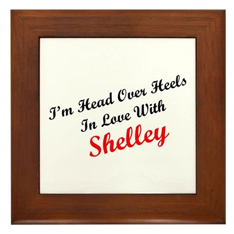 In Love with Shelley Framed Tile