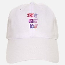 Start - Use - Do Baseball Baseball Baseball Cap