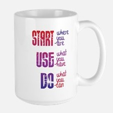 Start - Use - Do Mugs