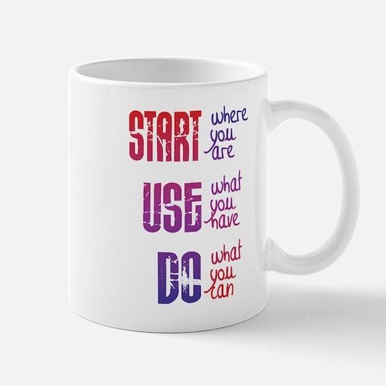 Start - Use - Do Mugs