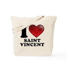 I Heart Saint Vincent Tote Bag