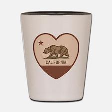 Love California Shot Glass