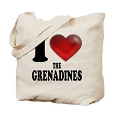 I Heart The Grenadines Tote Bag